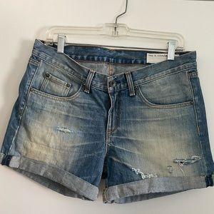 Rag & Bone jean shorts size 27
